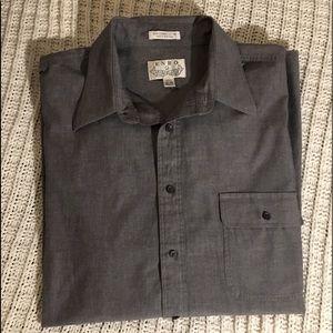 ENRO Button down long sleeve shirt. Big & Tall